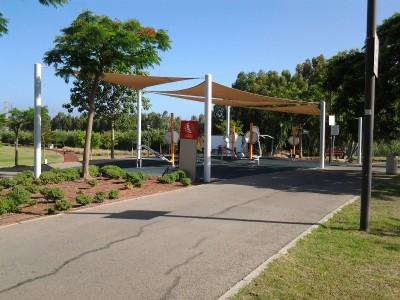 אימון כושר אישי בפארק הרצליה